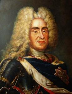 August der Starke - Gemäldekopie nach Louis de Silvestre