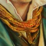 Detail - Gemälde für Tom Gavron, 2011