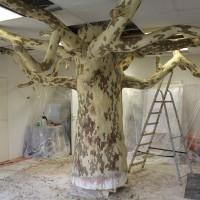 Vorkonstruktion des Baumes